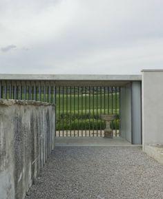 Iñigo Esparza; Asiain Cemetery (New Construction); Navarre, Spain, 2012.