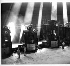 """76"""" Hot Strip Mill, Inland Steel Co., 1954    My Dad was Medical Director of Inland Steel during this time."""