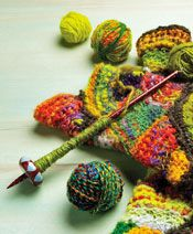 The Ultimate Stash-Buster: Modular Knitting! - Knitting Daily - Knitting Daily