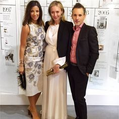 Kat Lebrasse at the 25 years of @bcbgmaxazria wearing Artelier the World Cuff //Cristina Ramella Jewelry