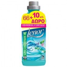 Μαλακτικό Lenor Ocean Escape 66+10 μεζούρες Δώρο Soap, Cleaning, Bottle, Flask, Soaps