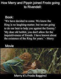 people who have only watched the movie or don't remember the book never understand why Merry is my favorite hobbit. Fellowship Of The Ring, Lord Of The Rings, Merry And Pippin, Concerning Hobbits, O Hobbit, Into The West, Jrr Tolkien, Thats The Way, Middle Earth