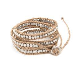 Cuyana Beaded Wrap Bracelet