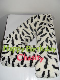 Buttercream Zebra Stripe