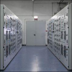 THE CLOUD SHELTER | Telecom Italia - Data Center. ©Peter Marlow #MagnumPhotos