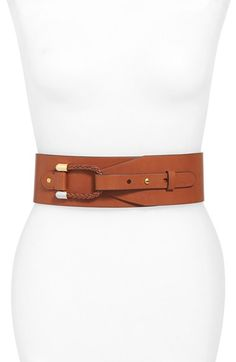 Free shipping and returns on Lauren Ralph Lauren Braided Loop Wide Belt at Nordstrom.com. A braided loop adds to the rustic appeal of a wide faux-leather belt that punctuates your look with easy sophistication.