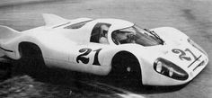 Test 917 LH at Le Mans, 1971.