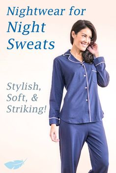 Discover our carefully crafted line of fashionable wicking sleepwear at Slumbersome.com!