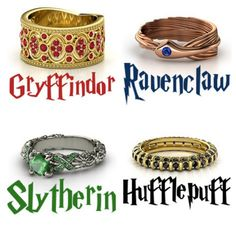 These rings appear to be sourced from all over--so they ARE real--and we've heard the Ravenclaw ring is from http://www.gemvara.com.