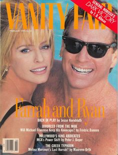 Magazine photos featuring Vanity Fair Magazine [United States] (February on the cover. Vanity Fair Magazine [United States] (February magazine cover photos, back issues and newstand editions. List Of Magazines, Vintage Magazines, Vanity Fair Magazine, Ryan O'neal, Kate Jackson, Anthony Hopkins, Seventeen Magazine, Farrah Fawcett, Artists