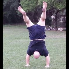 Working on free or unassisted handstands!