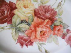 close up of platter June Watson Artist
