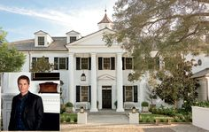 Rob Lowe's house...happens to be my dream house! :) #celebrityhomes #roblowe