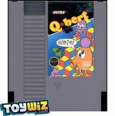 Nintendo Entertainment System NES Played Cartridge Game Q*bert. $5.99 #videogames #game