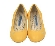 Yellow flats- I just love ballet flats- I wish I could have a pair in all colors, glittery, with bows etc