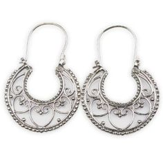 Fashion Girls Sterling Silver Earrings 1.75 inches (Jewelry)  http://documentaries.me.uk/other.php?p=B00713XXUS  B00713XXUS