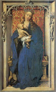 Kunsthistorisches Museum, Wien - Rogier van der Weyden - Madonna