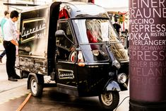 Begegnung mit dem Espressomobil Mobiles, Espresso, Vintage Logo, Trucks, Vehicles, Espresso Coffee, Mobile Phones, Truck, Car
