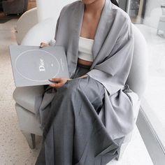 • grey casual #dior #magazine #fashion #casual