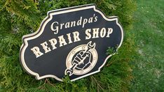 Grandpa gift,fathers day gift,grandfather gift,repair shop,dad gift,grandpa dad father birthday,gift for father,husband gift,man cave