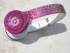 Swarovski BLING Pink Ombre BEATS Custom Bedazzled with Crystals df4ec1d3d350