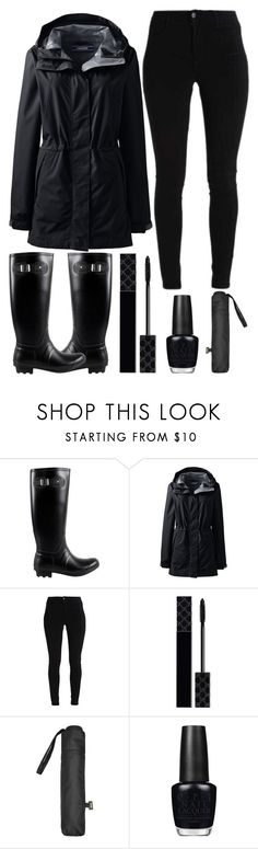 """""""rainy day in new York city"""" by j-n-a ❤ liked on Polyvore featuring West Blvd, Lands' End, Gucci, MANGO, OPI and plus size clothing"""