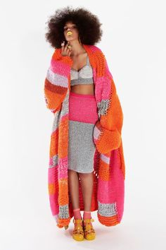 knit fashion by Gabriella Piccolo ... nice color combination