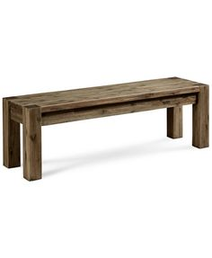 Canyon Dining Bench, Only at Macy's | macys.com