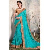 Beautiful Latest Saree, Unstitched Banglori Silk Blouse, By Elite Emporio