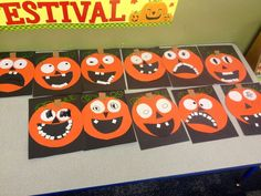 pumpkin crafts for kids | Funny pumpkin craft for kids ! | School