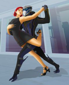Background Study commission for ► without background 31028050 Shepard and Garrus - Mass Effect © BioWare Shepard and Garrus Mass Effect Ships, Mass Effect Garrus, Mass Effect 1, Mass Effect Universe, Commander Shepard, Learn To Dance, Funny Games, Dragon Age, Character Concept
