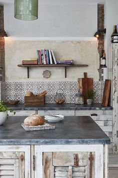 Using reclaimed or antique tiles in your home renovation project offers many benefits from practicality, durability and versatility to craf. Decorating Tips, Decorating Your Home, Interior Decorating, Interior Design, Antique Tiles, Or Antique, Beautiful Kitchens, Cool Kitchens, Open Plan Kitchen
