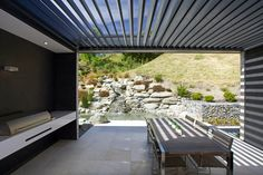 Shotover House by Gary Todd Architecture Outdoor Furniture Sets, Outdoor Decor, Landscape Design, Patio, Architecture, House, Backyard Ideas, Inspiration, Home Decor
