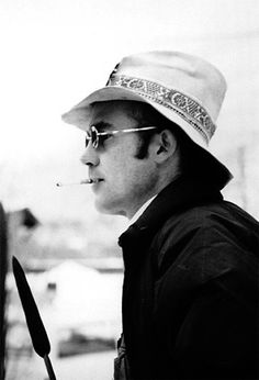 Streams of Consciousness - Top 10 List - Top Ten List - Top 10 Hunter S. Thompson Quotes - Fear and Loathing in Las Vegas - The Great Shark Hunt - Generation of Swine Hunter S Thompson Quotes, Beautiful Men, Beautiful People, Fear And Loathing, Writers And Poets, Book Writer, I Icon, Johnny Depp, Gq