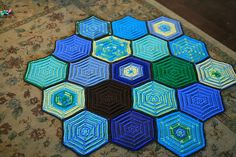 Ravelry: Project Gallery for Painted Turtle Afghan pattern by Edie Eckman