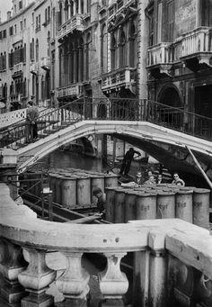 Henri Cartier-Bresson 1953 ITALY. Venice