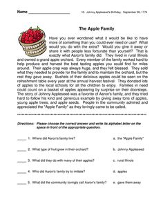 Worksheets Short Story Questions short story with comprehension questions english reading questions
