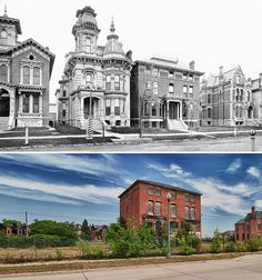 James Campbell house at 91 Alfred Street - 1881 and 2011 by mgsmith, via Flickr This makes me sad... EP