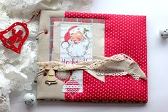 Santa Album Cover - Donna Salazar Designs
