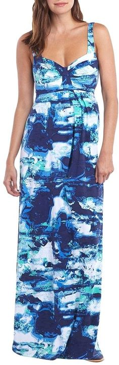 TART COLLECTIONS MATERNITY Lynelle Printed Maxi Dress