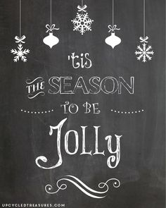 Top Ten Pinterest Picks | Chalkboards, Holidays and Christmas ...