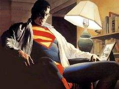 Alex Ross knows superheroes.