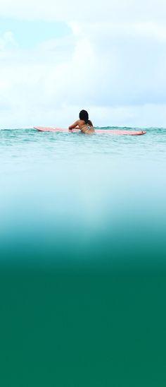 Waiting for waves with Kelia Moniz