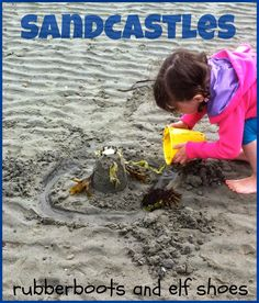 Sandcastles: books and activities from Rubber Boots and Elf Shoes