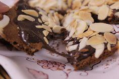 Torradas de chocolate com amêndoas by Segredos da Tia Emília. ..:: Segredos da Tia Emília ::..