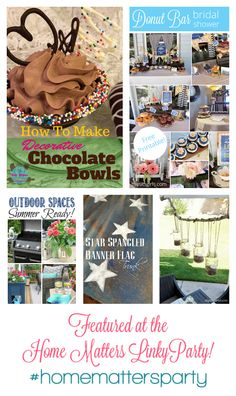 This week's FEATURES over at the #HomeMattersParty - come join us!