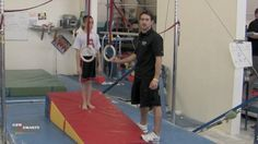 Support strength on rings is one of the more difficult basic skills for young athletes to develop. Scott Burns from California Sports Center shows a simple d. Flips Gymnastics, Boys Gymnastics, Gymnastics Training, Gymnastics Conditioning, Gymnastic Rings, Male Gymnast, Basketball Court, Soccer, Athlete