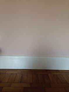 Room painted with farrow and ball calamine