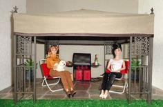 OOAK-GARDEN-GAZEBO-4-Fashion-Royalty-Poppy-Parker-Barbie-Dolls-Displays