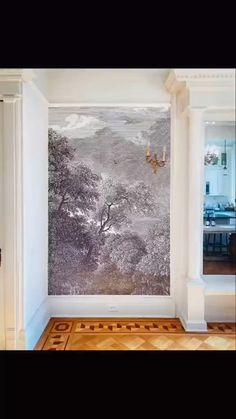 Beautiful Houses Interior, Beautiful Homes, Modern Asian, Decorating On A Budget, Home Decor Trends, Abstract Wall Art, Decoration, Bold Colors, Wall Murals